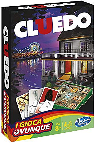 Hasbro Gaming- Cluedo Road Trip Gioco in Scatola [Lingua Inglese]