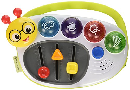 Baby Einstein Little DJ Musical Take-Along Toy with Lights and Melodies, Ages 12 months +