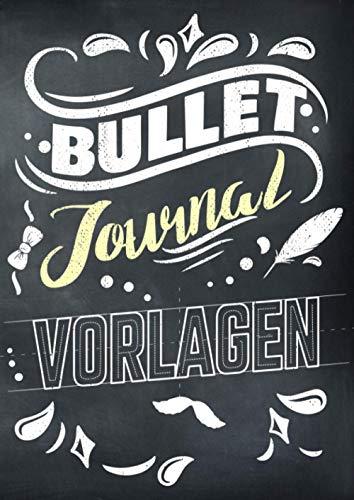 Bullet Journal Vorlagen: Schmuckelemente zu schöneren Gestaltung für Planer, Kalender und Tagebücher aller Art - 1500 Layout Schablonen Elemente zum Abpausen und Zeichnen