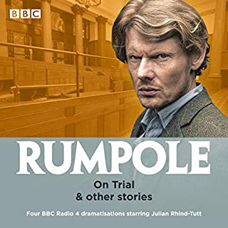 Rumpole: On Trial & Other Stories audiobook cover art
