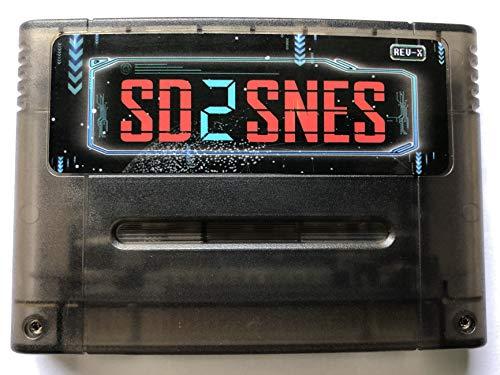 SD2SNES Everdrive Super Nintendo SNES Famicom Nes Flash Cart + 8gb Sd Card