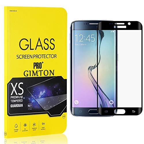 GIMTON Displayschutzfolie für Galaxy S6 Edge Plus, 9H Härte, Anti Bläschen Displayschutz Schutzfolie für Samsung Galaxy S6 Edge Plus, Einfach Installieren, 3 Stück