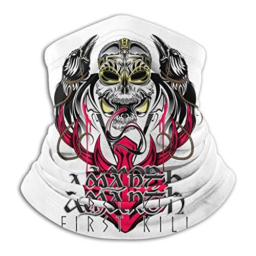 Shinyzone Amon Amarth Logo Unisex Multifunción de Microfibra Cara Máscara de Cuello Polaina Protección UV Bandanas Pasamontañas