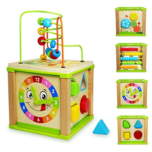 Ulmisfee 5-in-1 Activity Cube...