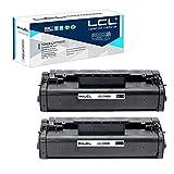 LCL Cartucho de tóner Compatible 92A C4092A EP-22 (2 Negro) Reemplazo para Canon LBP-800/810/1110/1120 HP Laserjet 1100/1100SE/1100XI/1100A/1100A SE/1100A XI/3200/3200SE/HP 3200M