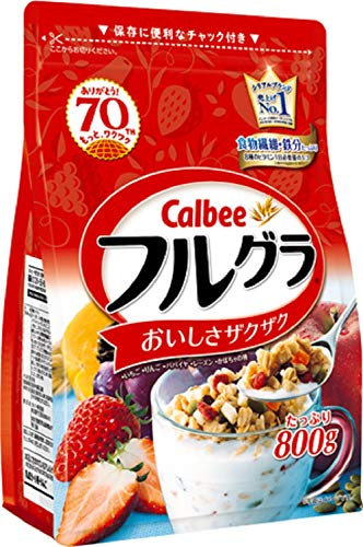 【セット品】カルビー フルグラ 800g × 6袋