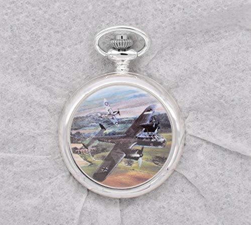 OPO 10 - Reloj Fob de la Segunda Guerra Mundial Decorado con...