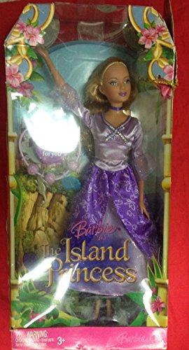 Barbie Prinzessin der Tierinsel Schlossmädchen im lila Kleid Prinzessin der Tierinsel