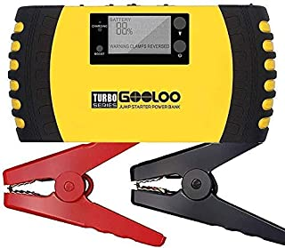 GOOLOO 1500A Peak 20800mAh SuperSafe Car Jump Starter with USB Quick Charge 3.0 (Up to..