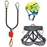 Climbing Technology - Kit de ferrata Premium Eclipse - Juego Unisex para Adulto, Multicolor, Talla única