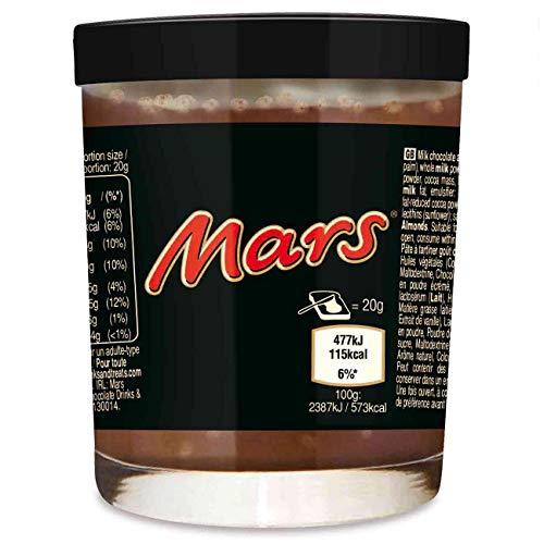 Mars Creme Brotaufstrich im Glas (als trinkglas verwendbar) 200g