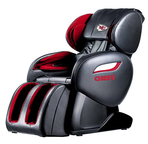 NFL Electric Full Body Shiatsu Massage Chair Recliner Zero Gravity w/Heat...