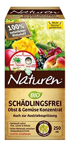 Substral Naturen Bio Schädlingsfrei Obst- u Gemüse Konzentrat geg. Blattlaus, Spinnmilbe, weiße Fliege, etc, 250ml