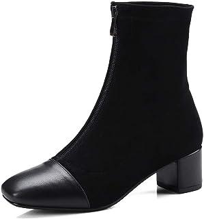 BalaMasa Womens Nubuck Solid Boots Urethane Boots ABM12722