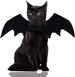 لباس گربه هالووین Malier مخصوص سگهای گربه بالهای خفاش حیوانات خانگی بالهای لباس خفاش گربه سگ