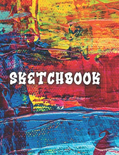 Sketchbook: Large Notebook for Drawing, Writing, Painting, Sketching or Doodling