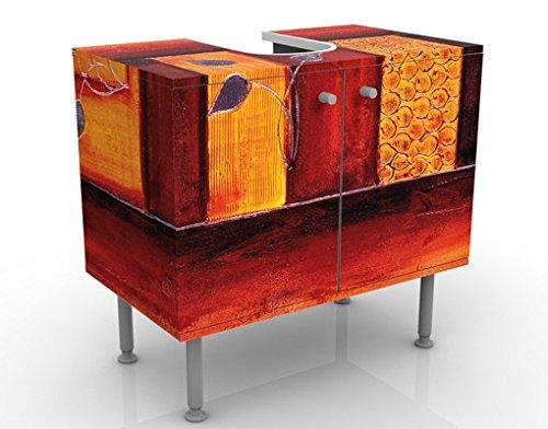 Apalis Waschbeckenunterschrank Memory 60x55x35cm Design Waschtisch, Größe:55cm x 60cm