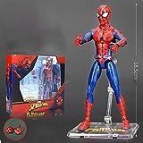 YXCC Figura de acción de Hulk Figura de héroe araña Estatua de Iron Man Hulk Juguetes de Personajes ...