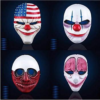 Edizione: Germania Clover Mask Gaya Entertainment Maske Payday 2