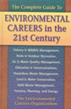 environmental careers in the 21st century