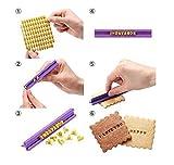 BeautyLife DIY Fondant Werkzeug, Alphabet Buchstaben Anzahl Cookies Keks Torten Gebäck Stempel Embosser Prägestempel Ausstecher
