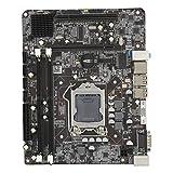 T osuny Placa Base de Escritorio, Placa Base de computadora LGA 1156 DDR3 para Intel Core Generation, Placa Base 1333 / 1066MHZ con Interfaz 4 x SATA2.0, Puerto de 2 Pines USB2.0
