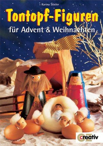 Tontopf-Figuren für Advent & Weihnachten