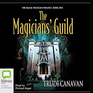 The Magician's Guild                   By:                                                                                                                                 Trudi Canavan                               Narrated by:                                                                                                                                 Richard Aspel                      Length: 15 hrs and 24 mins     181 ratings     Overall 4.0