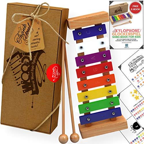 Agreatlife Wooden Xylophone for Kids | Amazon