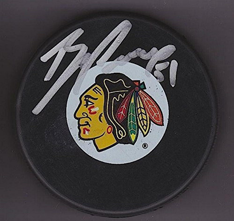 Signed Brian Campbell Hockey PuckAutographed NHL Pucks