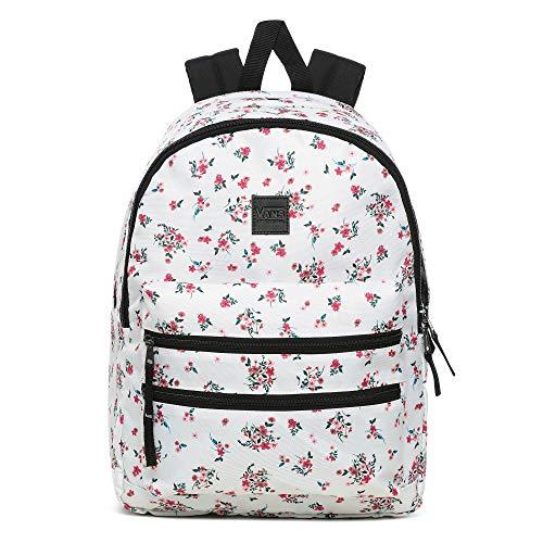 Vans Damen SCHOOLIN IT Backpack Rucksack, Beauty Floral Marshmallow, OS
