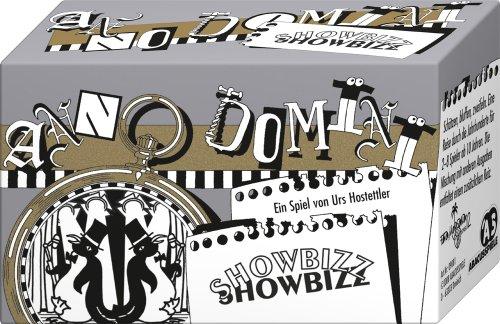 ABACUSSPIELE 09081 - Anno Domini - Showbizz, Quizspiel, Schätzspiel, Kartenspiel