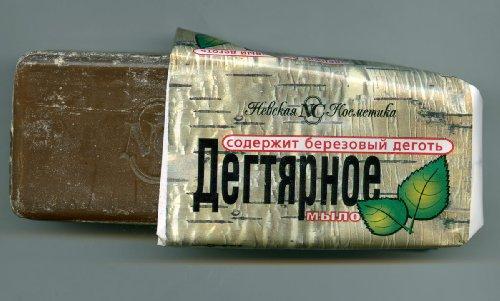 Natural BIRCH BARK SOAP (TAR SOAP) Anticeptic, Anti-Acne, Eczema 140g