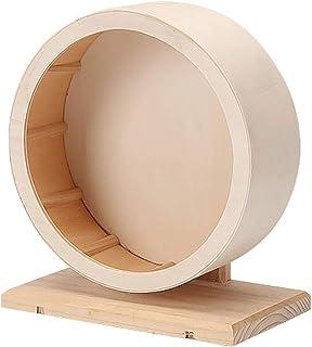 ハムスタ ー用 回し車 静音 小動物 トンネル 木製 天然素材 20cm