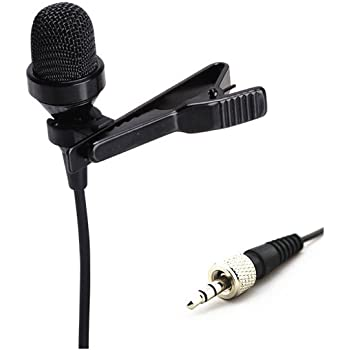 Pro Condenser Lavalier Lapel Microphone JK MIC-J 017 Compatible with Sennheiser Wireless Transmitter - Noise Cancelling Mic