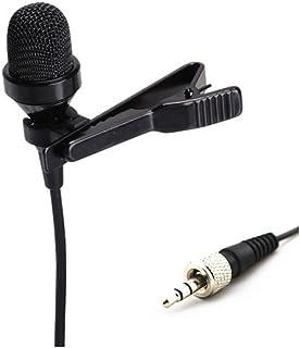 Pro Condenser Lavalier Lapel Microphone JK MIC-J 017 Compatible with Sennheiser Wireless..