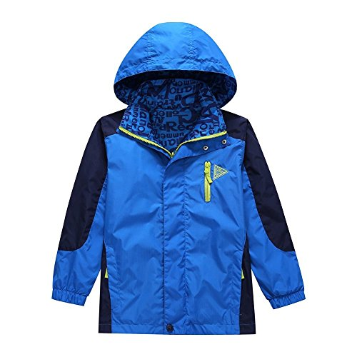 basadina kids waterproof jacket boys