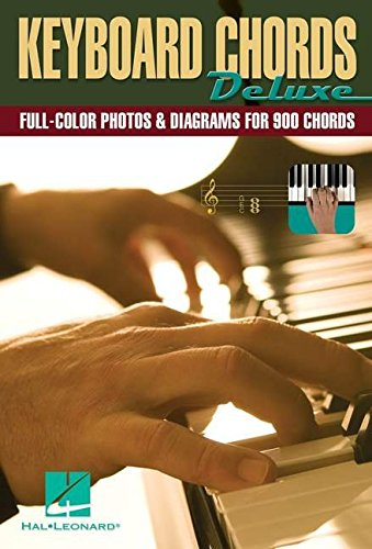 Keyboard Chords Deluxe Kbd Book: Noten für Keyboard: Full-Color Photos & Diagrams for Over 900 Chords