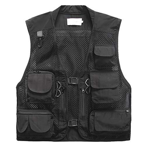 Freiesoldaten Men's Multi Pocket Vest Outdoor Fishing Camping Outwear...