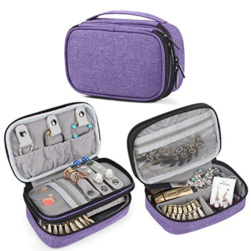 Teamoy Jewelry Travel Case, Jewelry & Accessories Holder...