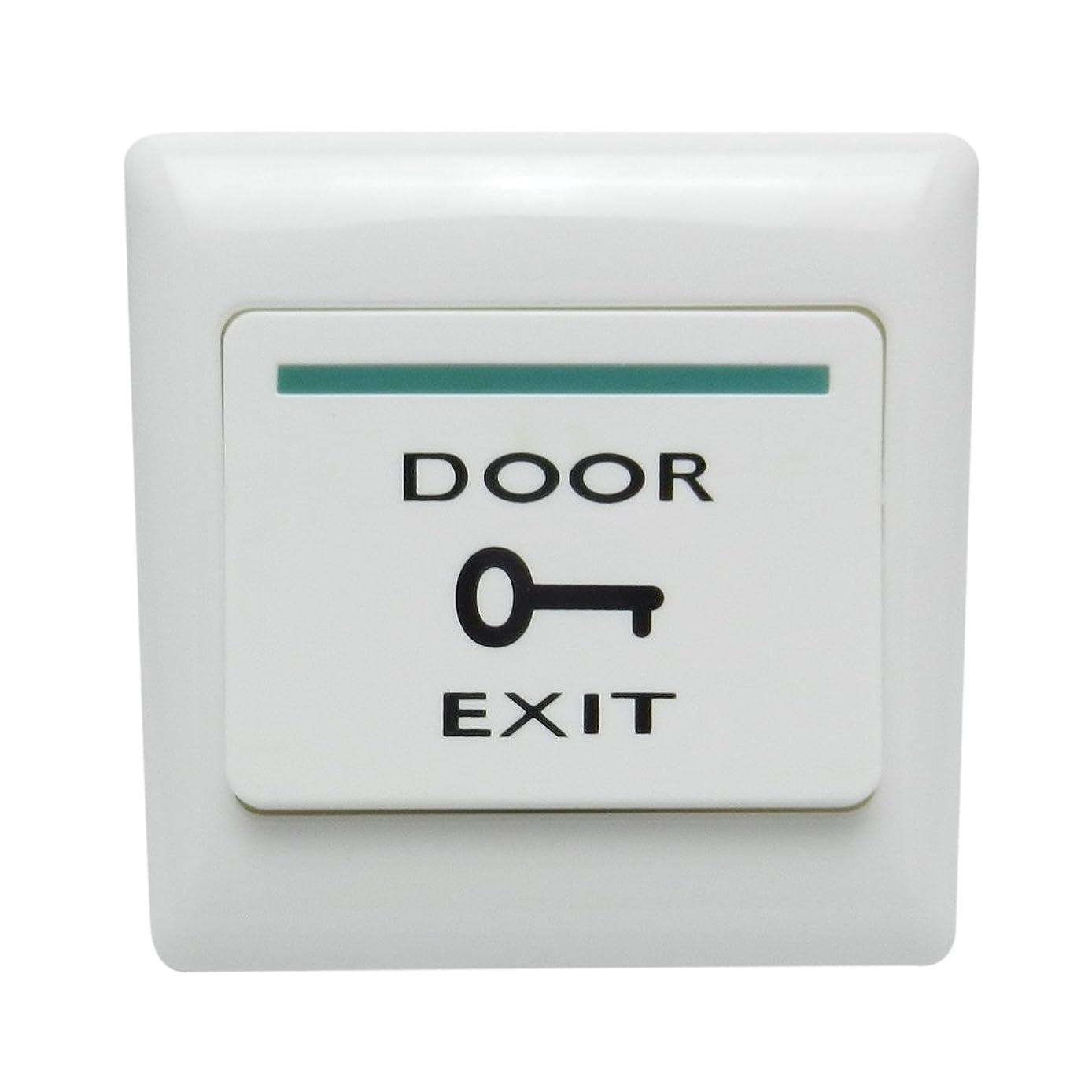 手段君主突き刺すD DOLITY ドア アクセス管理 3A 36V 磁気ロック 出口 リリースボタンスイッチ 押しボタン式