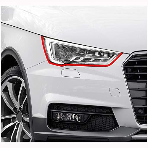 Finest-Folia Devil Eye® koplampfolie, streep voor AudiAudi A1 8X S1 Sport S Line RS