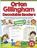 Orton Gillingham Decodable Readers. Easy decodable texts to improve reading and writing skills in struggling readers and kids with dyslexia. Volume 2