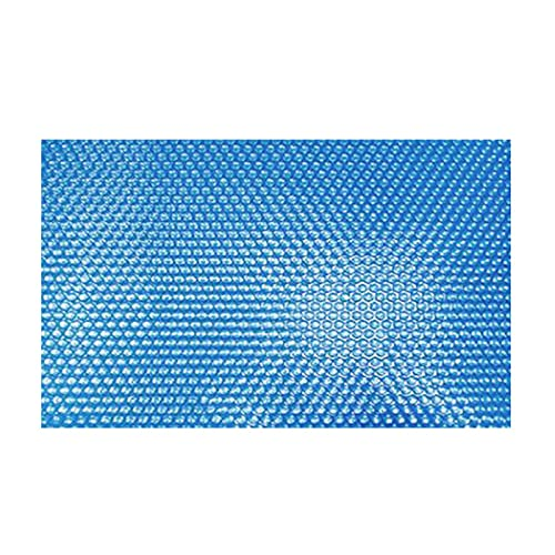 Facynde Cubierta Solar Piscina, Lona Solar Cubierta De Protección De Piscina Rectangular Película De Aislamiento Térmico para Piscina De Marco Exterior para Exteriores