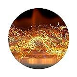 KRATKI Glow Flame - Efecto llama, 1 gramo, se puede usar hasta 300 horas, resistente al calor y respetuoso con el medio ambiente, ideal como decoración para chimenea de gas o de biochimeneas