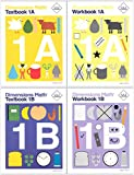 Dimensions Math Level 1 Kit (4 Books) -- Textbooks 1A and 1B, and Workbooks 1A and 1B