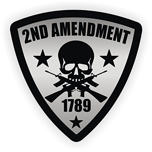 2nd Amendment Hard Hat Sticker / Helmet Decal Label Lunch Tool Box
