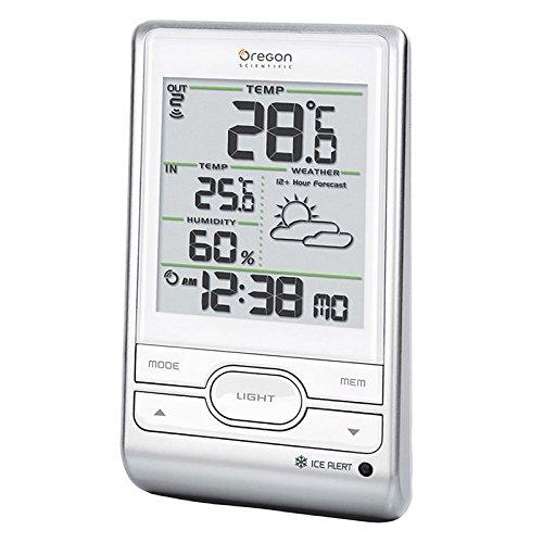 Oregon Scientific BAR206 - Estación meteorológica, color blanco