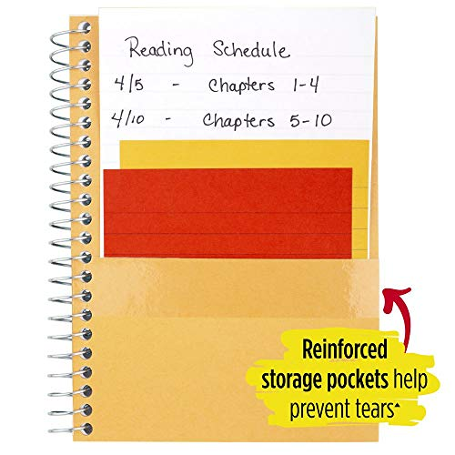 """Five Star Small Spiral Notebooks, 1 Subject, College Ruled Paper, 100 Sheets, 7"""" x 4-3/8"""", Personal Size, Assorted Colors, 12 Pack (38029) Photo #6"""