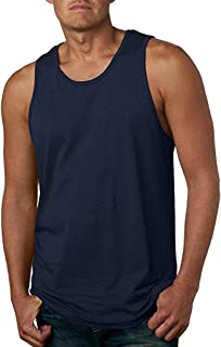 Tank Tops for Men丨Summer Loose Sleeveless Elegant Solid Leisure Sports Vest丨Mens Premium Fitted Jersey Tank Plus Size